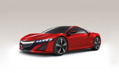Nissan Acura NSX red car