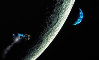 Space, planet, Apollo 13 movie