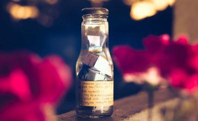 Wish bottle, blur