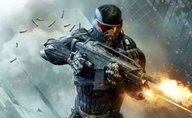 Soldier of Crysis 2 video game