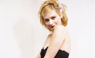 Beautiful Actress, Zooey Deschanel, smile