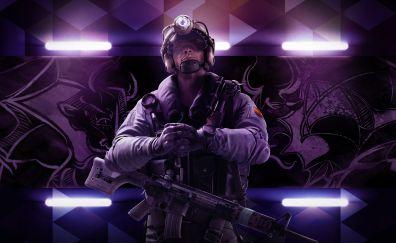 Tom Clancy's Rainbow Six Siege gaming, soldier