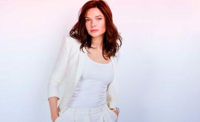 Female celebrity, red head, Rebecca Ferguson