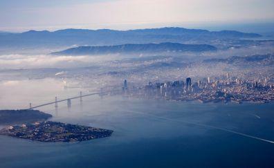 San Francisco, city, aerial view