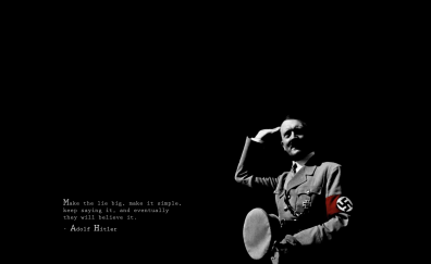 Quote by Hitler
