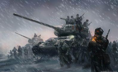 World war II artwork