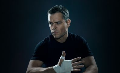 Matt Damon, Jason Bourne, 2016 movie