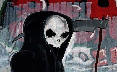 Artwork of grim reaper