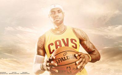 Lebron James, basketball player