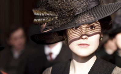 Michelle Dockery in Downton Abbey tv series, actress