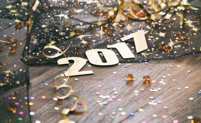2017 new year decoration