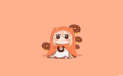 Umaru Doma, Himouto! Umaru-chan, minimal, anime girl
