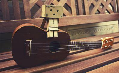 Danbo amazon paper box guitar