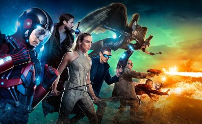 DC's Legends of Tomorrow, TV series, poster