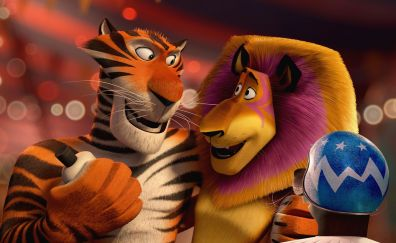 Madagascar 3: Europe's Most Wanted animated movie, 2012 movie