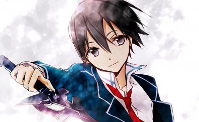 Kirito, Kirigaya Kazuto, SAO, anime boy