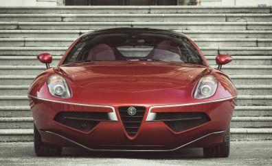 Alfa Romeo Disco Volante car, front view