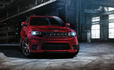 2016 Jeep Grand Cherokee SRT Red Car
