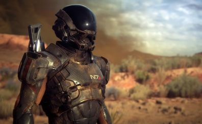 Video game, game, Mass Effect: Andromeda, N7, solider