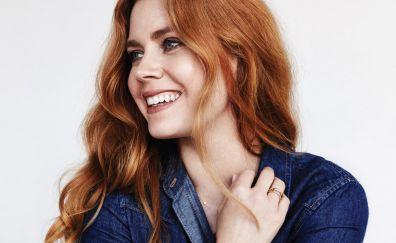 Amy Adams, redhead, celebrity, smile