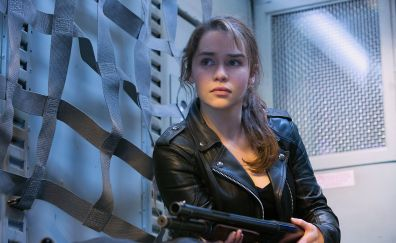 Emilia clarke, Terminator Genisys movie