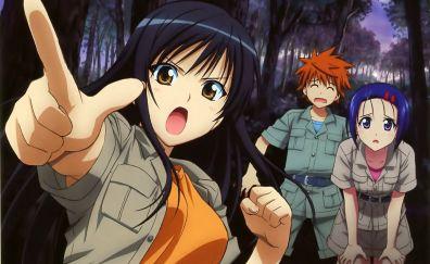 Haruna Sairenji, Rito Yuuki, Yui Kotegawa, To LOVE-Ru, anime