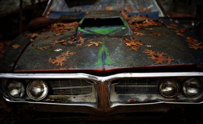 Vintage pontiac car wallpaper