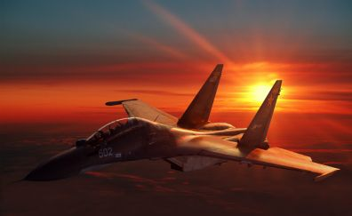 Sukhoi Su-30 fighter aircraft, russian air force