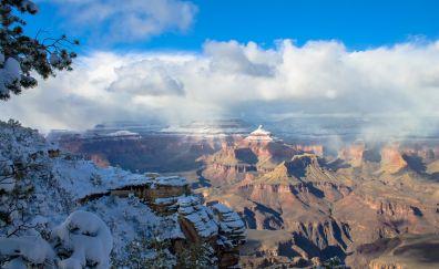 Grand canyon, winter, nature