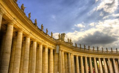 Vatican City, city, architecture