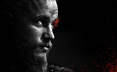 Ragnar, vikings tv series, dark