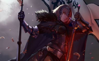 Jeanne d'Arc, Alter, Fate/Grand Order, anime girl