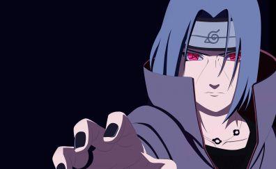 Naruto, uchiha itachi, mangekyou sharingan
