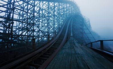 Abandon Roller Coaster