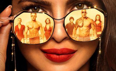 Baywatch, movie, Priyanka Chopra, face, sunglasses, cast