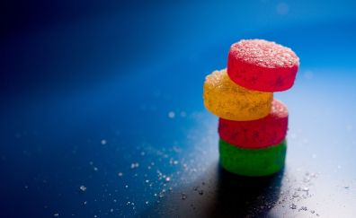Colorful sweets candy