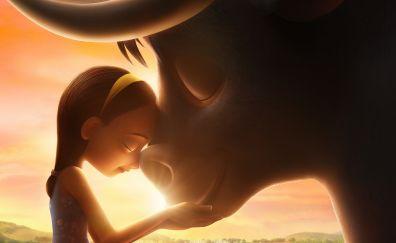 Ferdinand, animation movie, girl, bullock