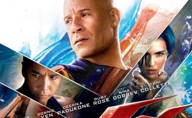Vin Diesel, Xxx return of xander cage 2017 movie