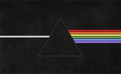 Pink Floyd, prism, minimal