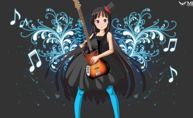 K-On!, anime girl