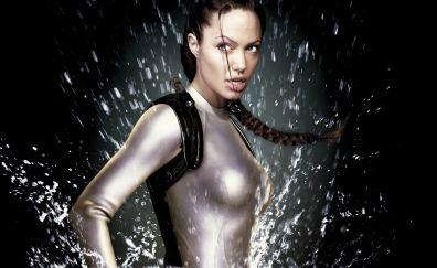 Lara Croft: Tomb Raider, 2001 movie, Angelina Jolie, actress