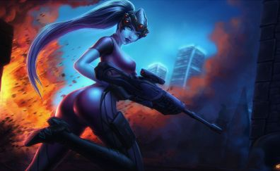 Widowmaker of overwatch video game