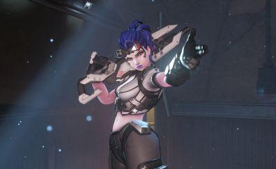 Widowmaker, video game, overwatch, art
