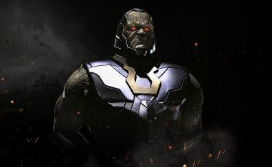 Darkseid, injustice 2, video game, dark, villain