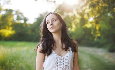 Lorenza, beautiful model, outdoor