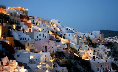 Santorini city