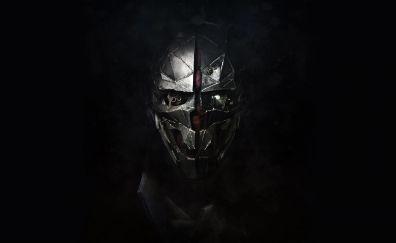 Dishonored 2 corvo attano face mask wallpaper