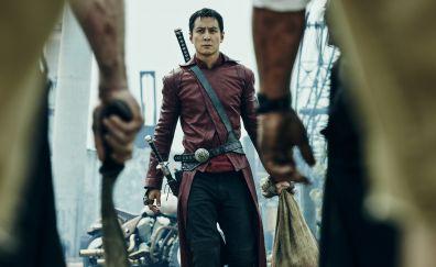 Into the badlands, TV series, Daniel Wu, katana