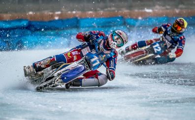 Motorcycle, racing, sports