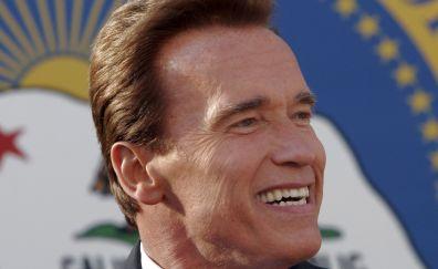 Arnold Schwarzenegger, American actor, politician, celebrity